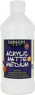 Sargent Art 22-8815 16-Ounce Acrylic Matte Medium