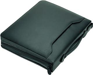 """ALASSIO Serviette classeur""""AREZZO"""" format A4 cuir Noir"""
