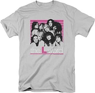 2Bhip The L Word Drama TV Show Showtime Cast Bette Kit Alice Tina Adult T-Shirt Tee