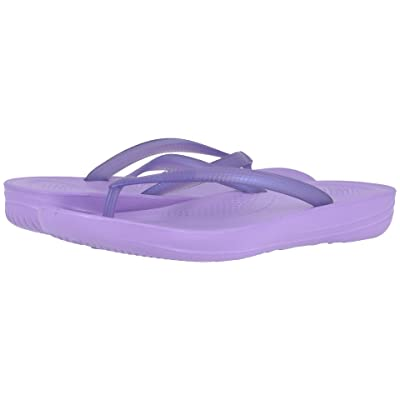 FitFlop Iqushion Ergonomic Flip-Flop (Frosted Lavender Pearlised) Women
