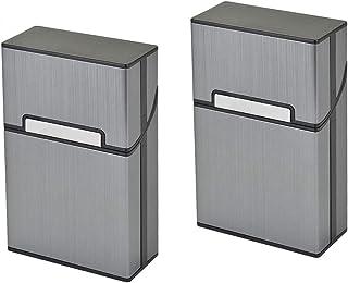 Voarge Lekka, aluminiowa skrzynka na papierosy, pojemnik na papierosy, elegancki design, aluminiowa skrzynka na papierosy...