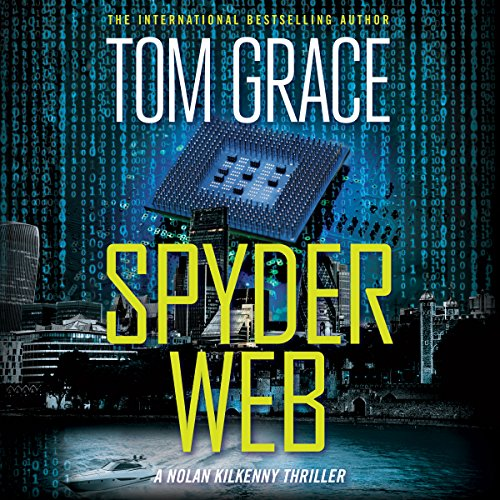 Spyder Web audiobook cover art