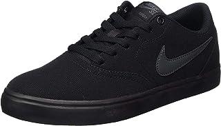 Nike Sb Check Solar Canvas Men's Sneakers, Black (Black/Anthracite)