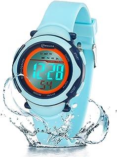 comprar comparacion Relojes Infantiles para niños, Reloj Deportivo Digital al Aire Libre a Prueba de Agua con Alarma/Cronómetro, Resistencia a...