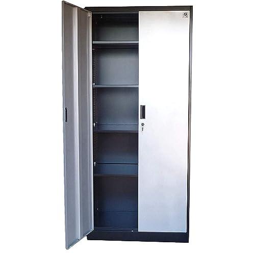 Garage Storage Cabinets With Doors Amazon Com