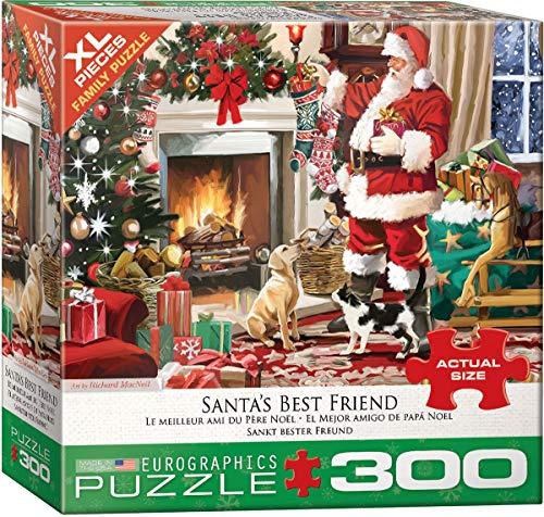 EuroGraphics 5399 Santa's Best Friend 300Piece Puzzle