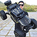 Lotees Large RC Car Monster Truck 4WD Remote Control Car Off Road Rock Crawler Electric Car Kids and...