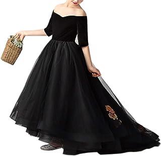 5915c308158 Robe Filles Broderie Trailing Robe Princesse Jupe Tulle Enfants Catwalk Robe  De Soirée Costumes D