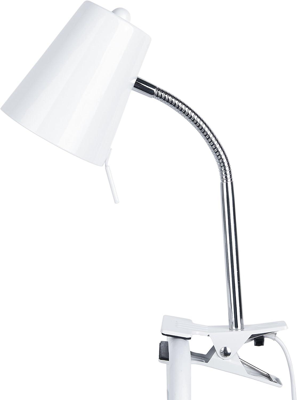 LEITMOTIV LM1335 Tischlampe Metall 40 W, Weiß B07DX3DZTB  | Hohe Qualität