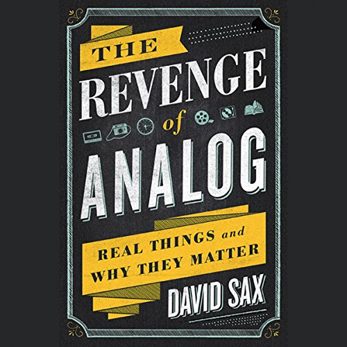 The Revenge of Analog audiobook cover art