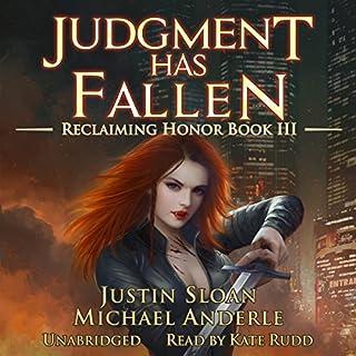 Judgment Has Fallen audiobook cover art