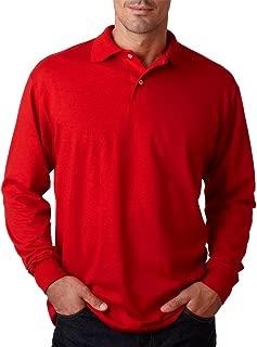 Jerzees 437Ml Adult SpotShield Long-Sleeve Jersey Polo Shirt