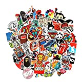CHNLML Love Sticker Pack 100-Pcs,Cool Sticker Decals Vinyls for Laptop,Kids,Cars,Motorcycle,Bicycle,Skateboard Luggage,Bumper Stickers Hippie Decals Bomb Waterproof(Not Random) (A)
