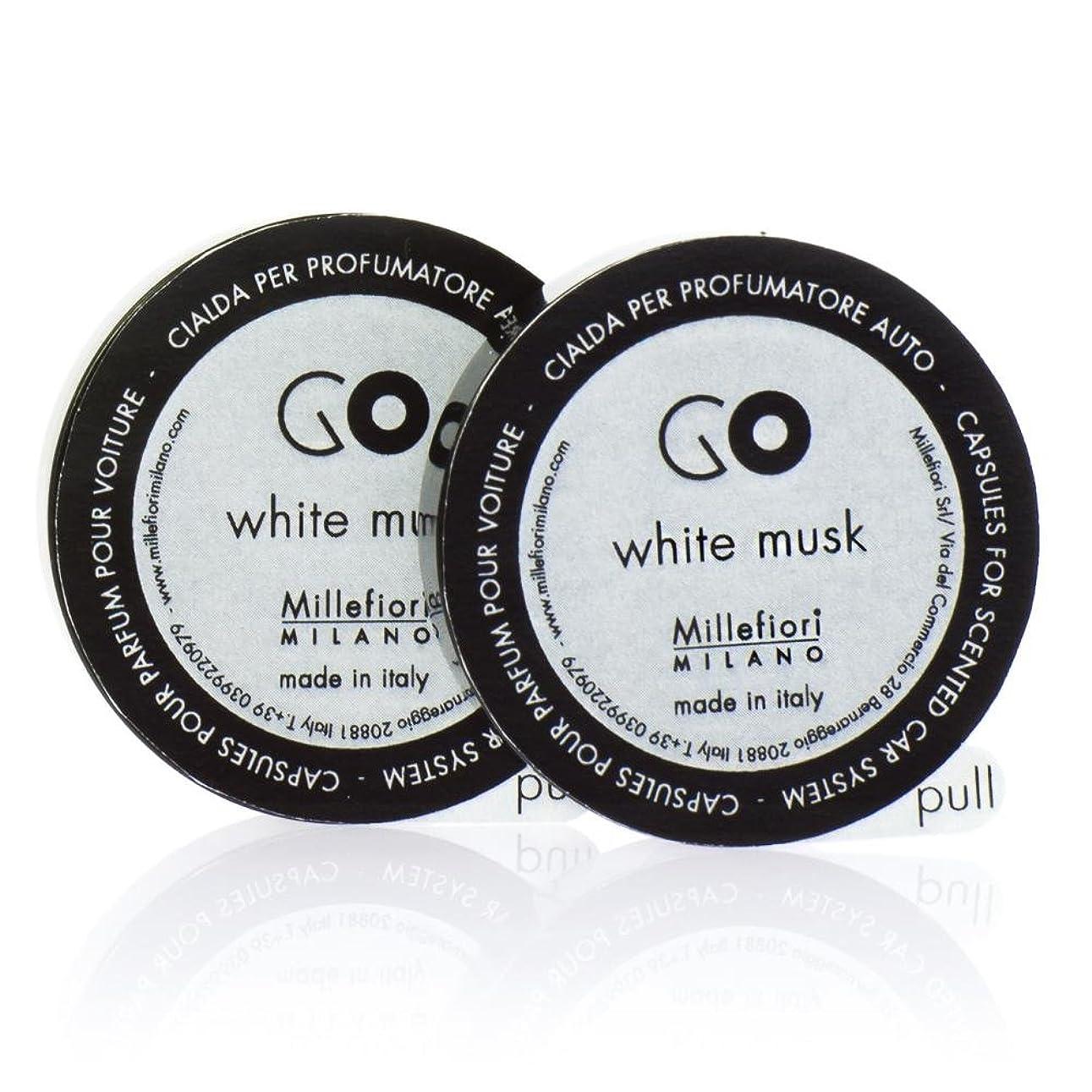 分析する動力学バーベキューミッレフィオーリ ( Millefiori ) 「GO」専用 レフィル / white musk ホワイトムスク