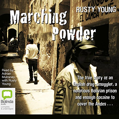 Marching Powder audiobook cover art