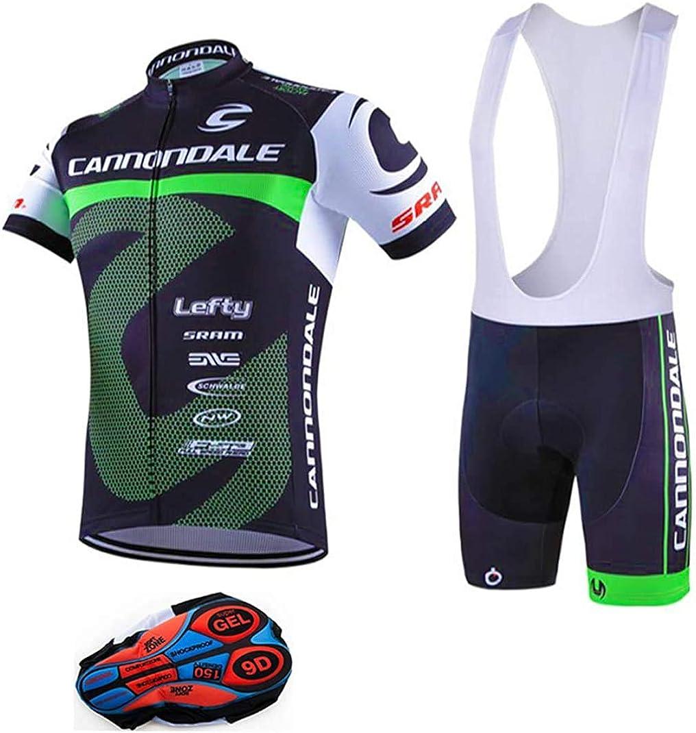 2020 Men/'s Pro Cycling Jersey Bib Shorts Kits Short Sleeve Shirt Pad shorts Set