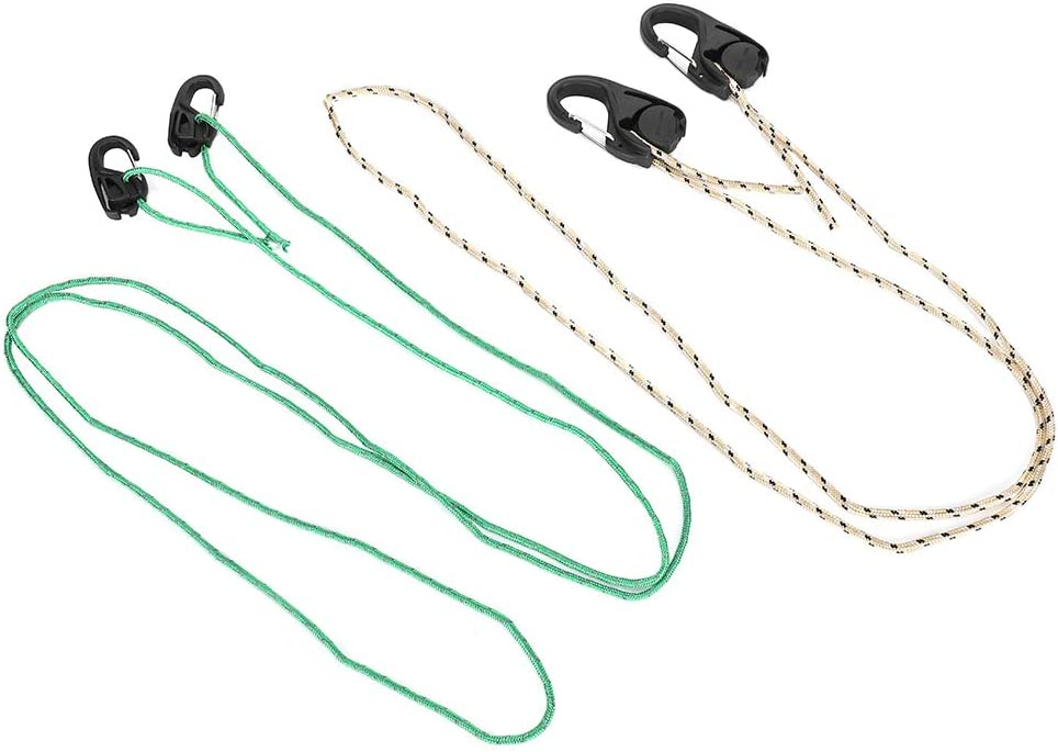 wholesale GLOGLOW Tent Lanyard Hook 2Pcs Rope Cam Outdoor Spring new work one after another Camping