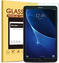 SPARIN Galaxy Tab A 10.1 Screen Protector, SM-T580 Model, [NOT FIT Tab A 10.1 2019 SM-T510/T515] 0.3mm Tempered Glass Screen Protector for Samsung Galaxy Tab A 10.1 2016 Released, Clear