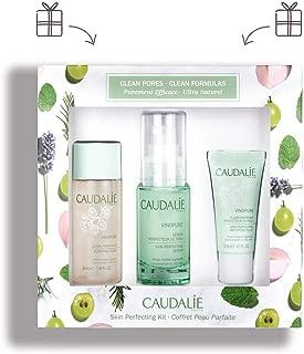 Caudale Vinopure Gift Set. Refining Vinopure Skin Perfecting Serum (30 milliliters), Purifying Vinopure Toner (50 milliliters), and Hydrating Vinopure Skin Perfecting Mattifying Fluid (15 milliliters)
