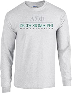 Delta Sigma Phi Better Men Better Lives Long Sleeve Tee