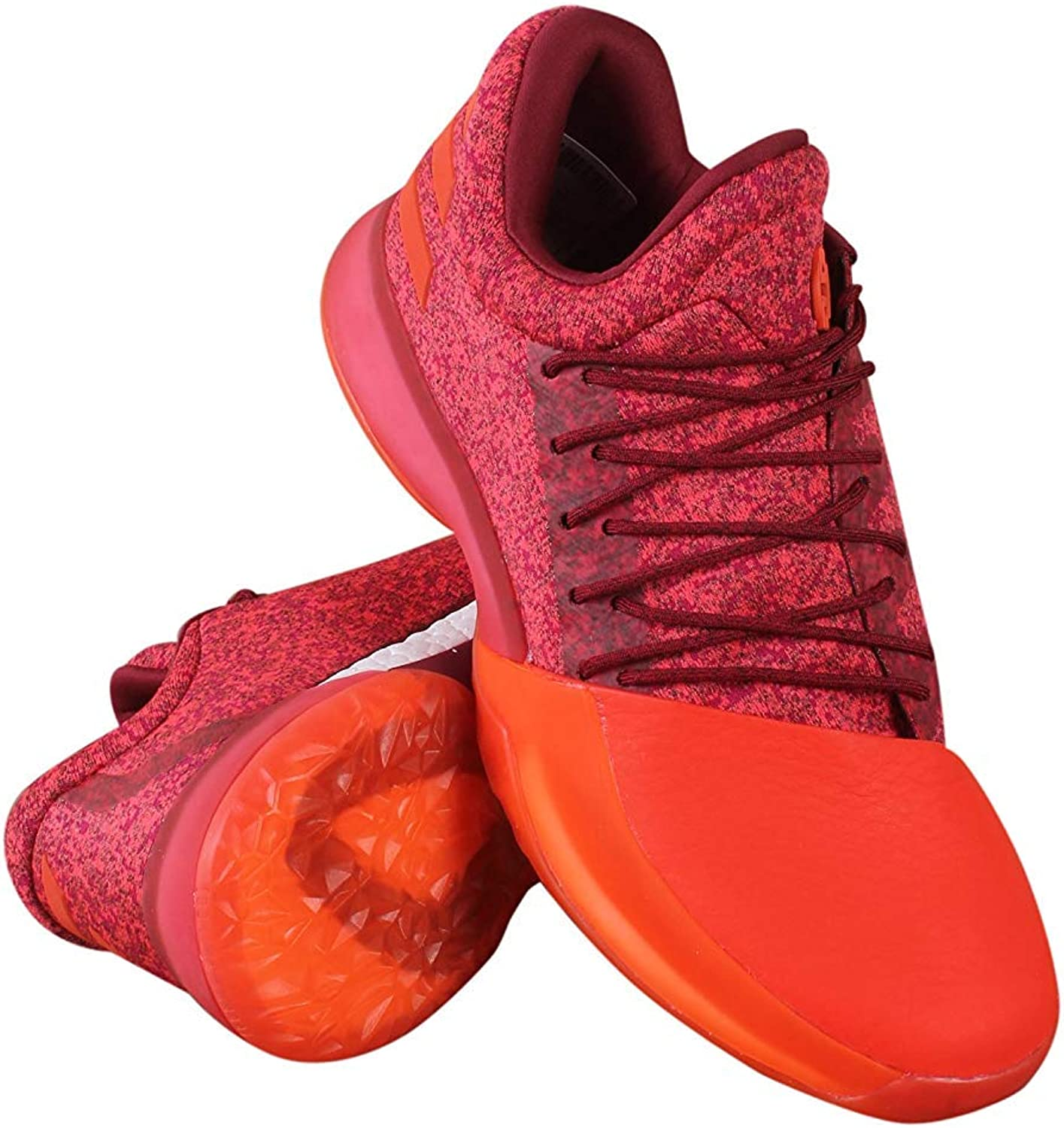 Adidas Harden Vol. 1 Mens in Scarlet Energy by, 9