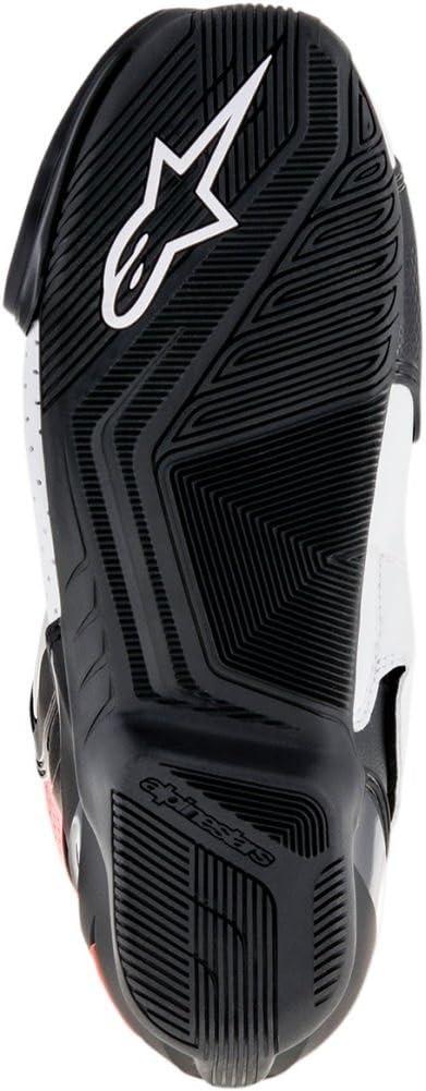 47 Alpinestars Mens SMX-6 v2 Vented Street Motorcycle Boot Black//Red//White