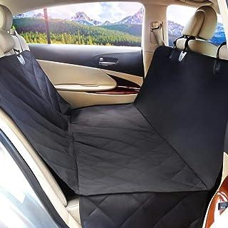 "Rabbitgoo Pet Seat Cover Dog Car Seat Covers Pet Seat Cover Hammock Car Interior Protector, Waterproof, Hammock Convertible & Non Slip Backing, Extra Durable 147 x 137cm, (57.8""x 53.9"")"