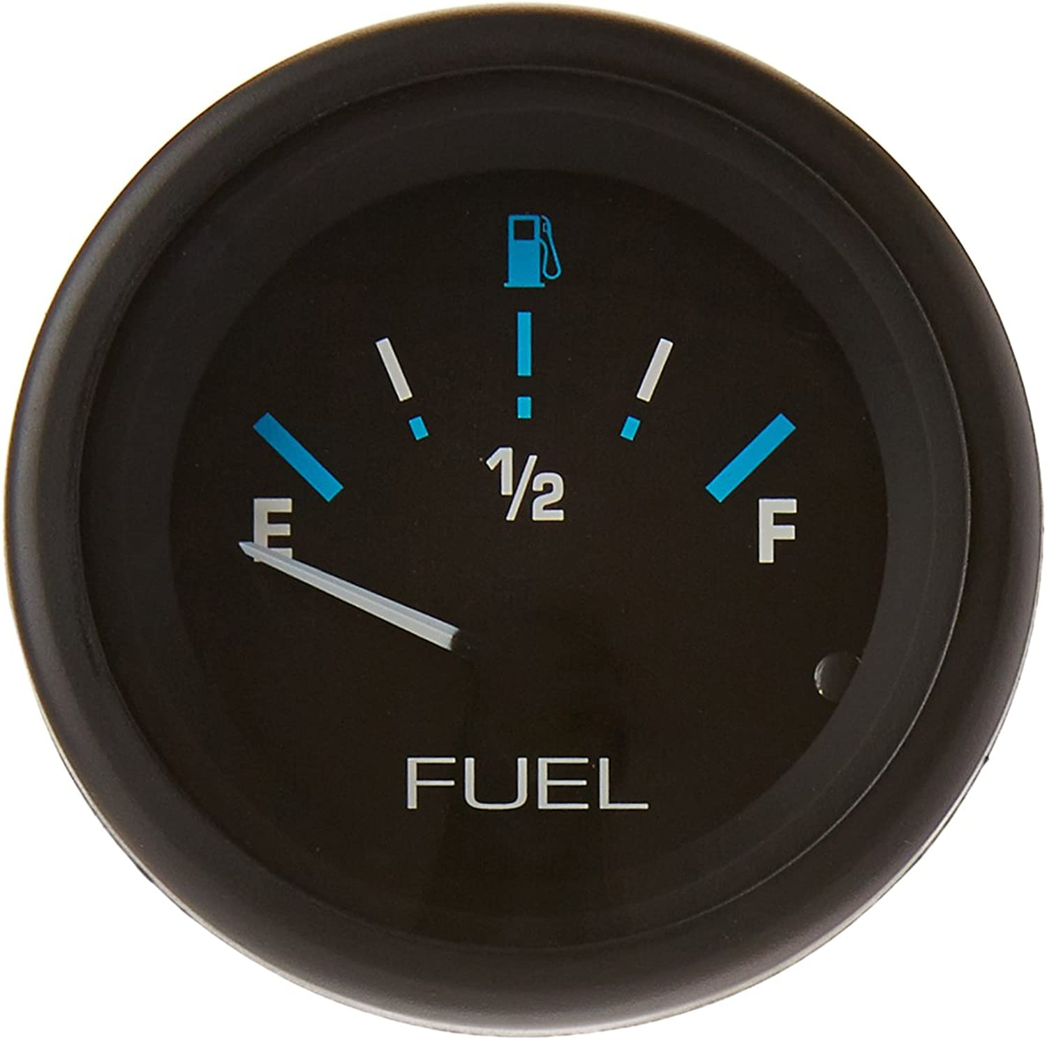 Sierra International 68390P EF Dial Range Scratch Resistant Domed Glass Lens Eclipse Fuel Gauge, 2