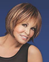R6/30H Chocolate Copper Lace Front Monofilament Chin Muse Wig by Raquel Welch