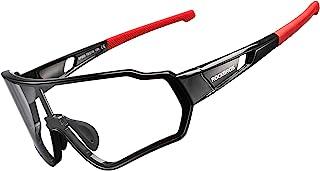 ROCKBROS Photochromic Sunglasses for Men Women Cycling Sunglasses Safety Sport Sunglasses UV Protection Transitions Sungla...