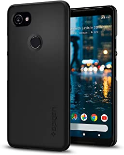Spigen Thin Fit Designed for Google Pixel 2 XL Case (2017) - Black
