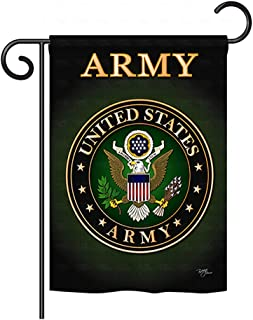 Breeze Decor G158055 Army Americana Military Impressions Decorative Vertical Garden Flag 13