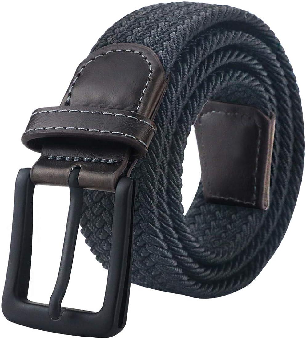 Maikun Belts For Men, Canvas Elastic Belt, Mens Womens Boys Belt For Father's Day