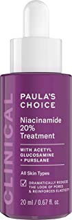 Paula's Choice CLINICAL 20% Niacinamide Vitamin B3 Concentrated Serum, Anti-Aging Treatment for Discoloration and Minimizi...