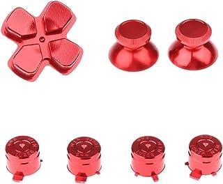 KESOTO Botão Do Console Do Volante Definido com Alça para - Vermelho