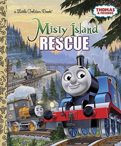 Misty Island Rescue (Thomas & Friends) (Little Golden Book)の詳細を見る