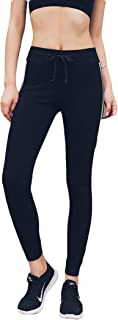 Aokarry Stretchy High Waist Workout Yoga Pants for Women Stripe