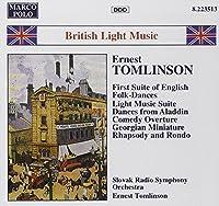 Tomlinson: First suite of English folk-dances / Light music suite / Shenandoah (British Light Music) (1994-08-09)
