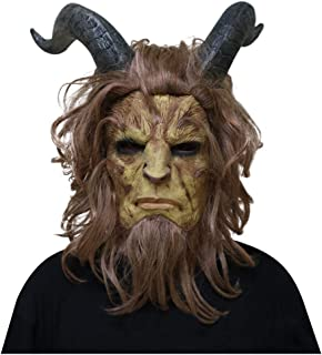 Nuoka Halloween Horror Costume Cosplay Hourns Beauty and The Best Scary Mask