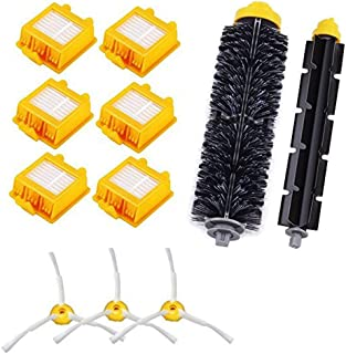Accessory for iRobot 700 Series 720 750 760 765 770 772 772e 774 775 776 776p 782 782e 785 786 786p 790 Roomba 780 Accessories Replacement Kit Replenishment Parts Set Filter Side Brush Roller#26-7XTZ