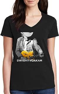 LaoHac Live Tour Dwight 2018 2019 Black Yoakam Hajarbleh 14 Women's V-Neck