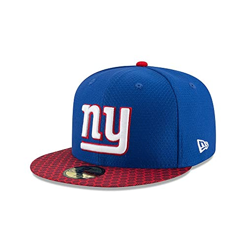 1fde7e85818 New Era New York Giants 2017 Sideline ON-FIELD NFL 59FIFTY Fitted Cap