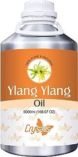 Crysalis Ylang Ylang Oil (Cananga Odorata) Ceramic Diffuser 100% Natural Pure Undiluted Uncut Essential Oil 5000ml