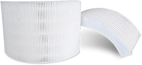 Crane HS-1941 Air Purifier Filter Set, (2 Pack), White
