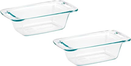 World Kitchen 1085799 Pyrex Easy Grab Loaf Dish, Pack of 2 Dishes