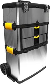 portable stainless steel tool box