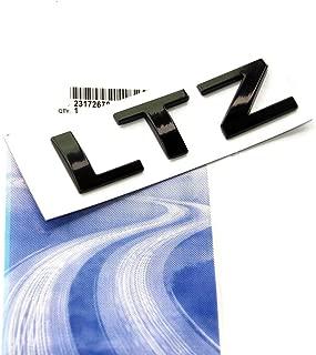 Yoaoo 1x OEM Black Ltz Letter Nameplate Emblem Badge 2008-2015 Cruze Silverado Yukon Sierra Glossy