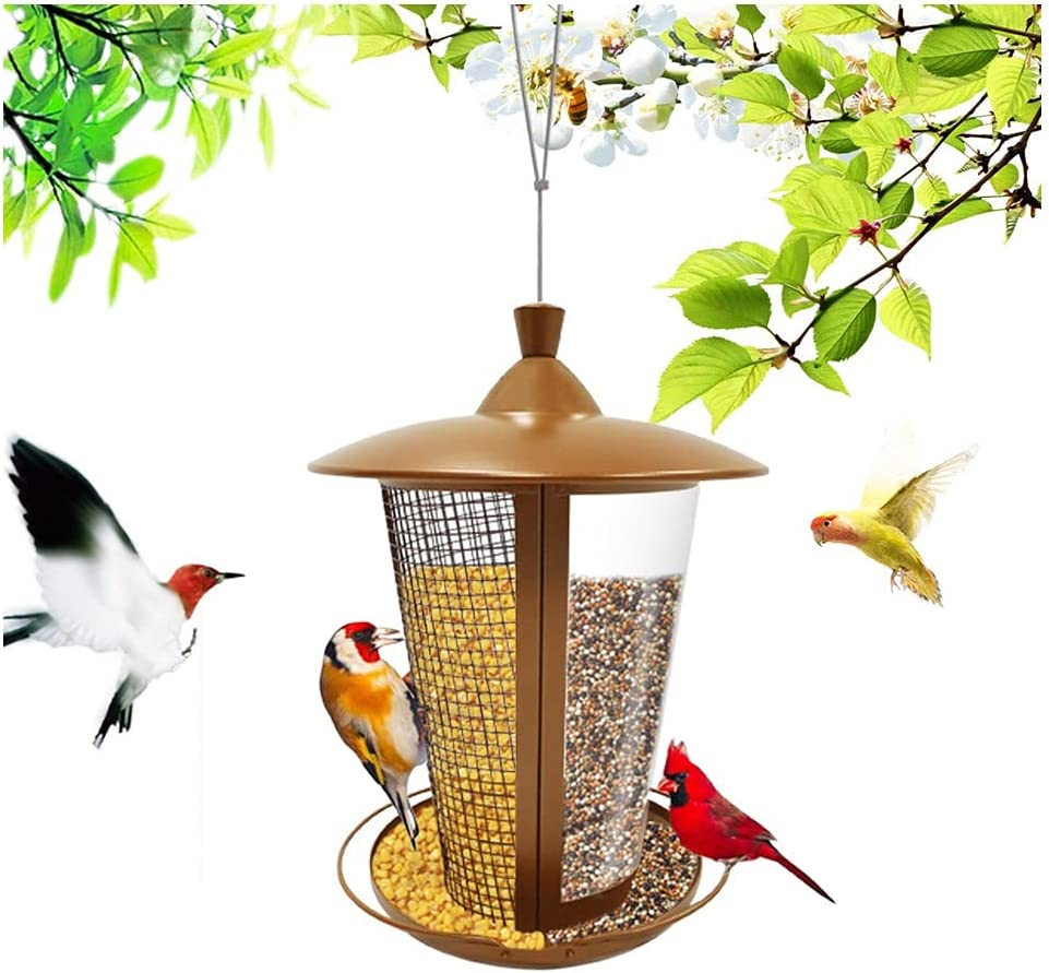 Mets Bird Feeder Feeding Ports Out Feeders High order Hanging famous for Wild
