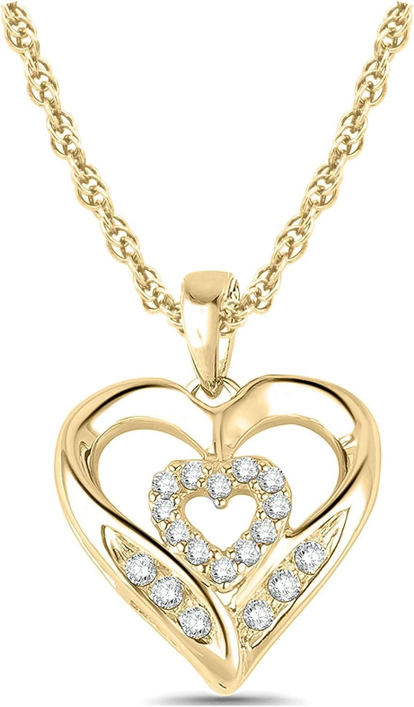Cali Trove 10K Overseas parallel import regular item White Yellow Rose Diamond 10ct Round Gold 1 Columbus Mall