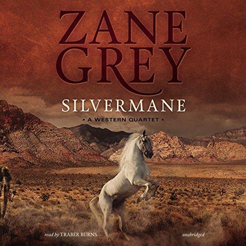 Silvermane audiobook cover art